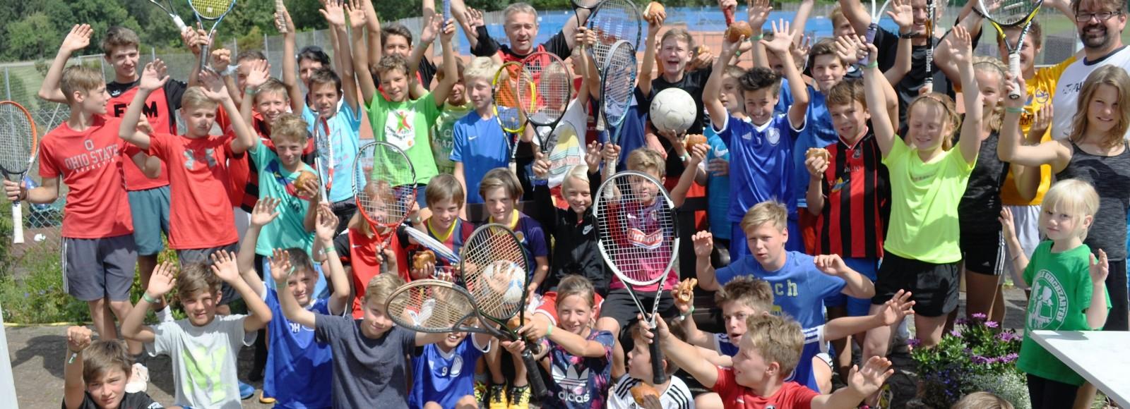 Tennis-Fußball-  Camp 2015
